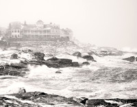 Nor'easter at Cape Neddick, Maine