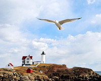 Flight over Nubble